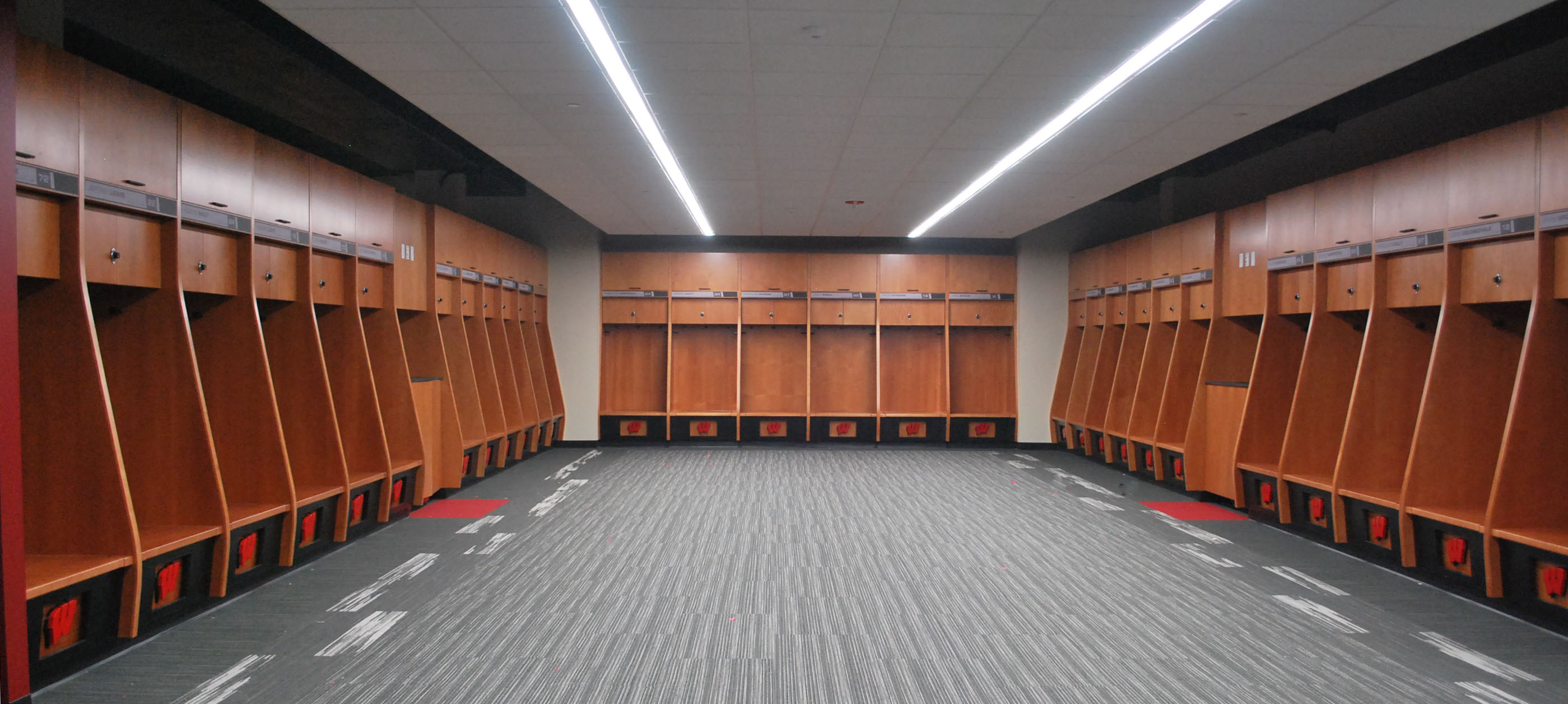 Camp Randall Locker Room AllColor Blog