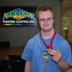 Alex Bausch Earns Gold in Bocce Ball