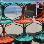 Sunburst Chairs Return to Union Terrace