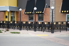 Buffalo Wild Wings Patio Gate