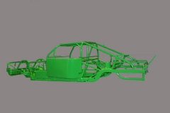 Green Car Frame