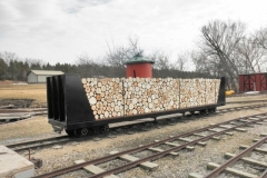 Little Amerika Log Train Car