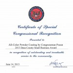 Dane County SBA Congress Recognition - Resized